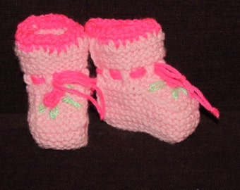 Knitted baby socks, size : newborn - 6 month