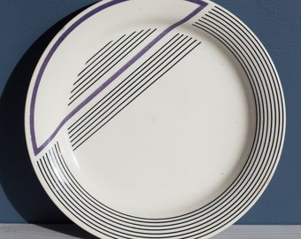 Art Deco style plate