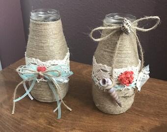 Decorative little jars
