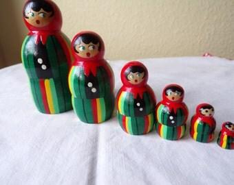 Set of Russian dolls