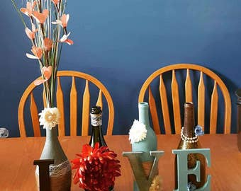 Handcrafted Wine Bottle Sign