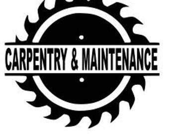 Carpentry and Maintenance SVG