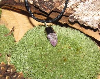 Amethyst - gemstone - chain