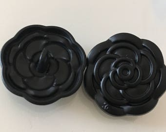 Chanel Camellia Buttons