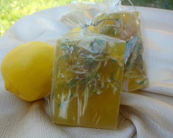 Citrus Essential Oils Glycerin Soap Bar