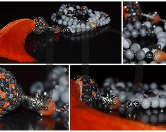 FREE SHIPPING, GIFT, Necklace-bracelet, Long, Beautiful, Pendant