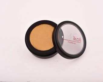 handcrafted eyeshadow, gold - pure, natural ingredients