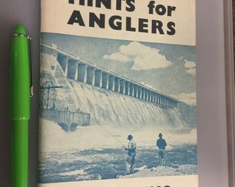 Harley's Hints for  Anglers Book