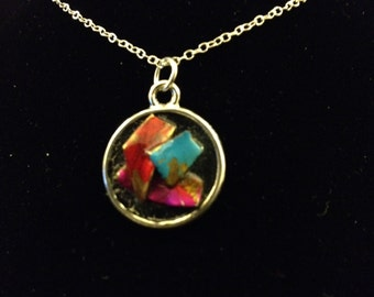 Retro Jewelry Repurposed into Funky Pendant – Nellie