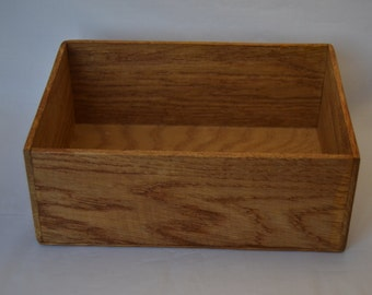 Wooden box, oak box, Handmade wooden box, handmade oak box, natural wood. SALE - 25% OFF!!!