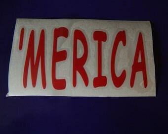 America Decal
