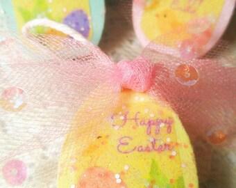 Glitter Egg Ornament