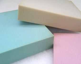 Custom Cut Foam Wrapped in Dacron/Batting