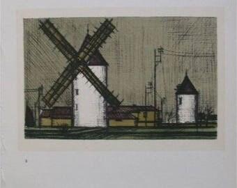 Bernard BUFFET - 3 prints - landscape - 1967 #MOURLOT