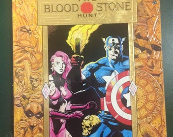Captain America: Blood Stone Hunt Graphic Novel by Marvel Comics