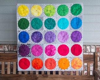 Paint Lids Modern Quilt