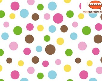 Children border: Colorful points. Borders for children, dots, dots, wall border, nonwoven, wall trims