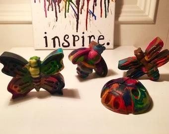 Bug Rainbow Crayons