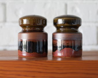 Beautiful Vintage Ceramic Salt and Pepper Shakers