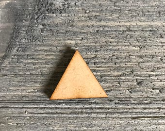25 Laser cut Triangle/Triangle/Triangle cut out/ triangle shapes/Embellishments/craft supplies/Wood/Laser cut/Diy/Diy crafts/Wood Shapes