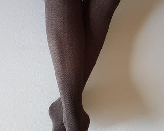 Dark tights | Cotton tights | Ladies tights | Present for Mother | Women's clothing | Gift for her
