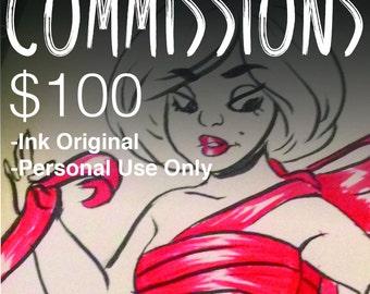 Original Ink Commissions