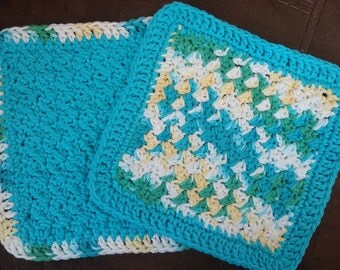 Crochet Dishcloths (2)