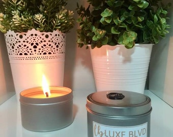 TRAVEL TIN - 100% Soy Candles - 200ml
