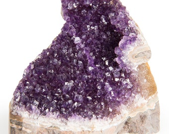 "Digging Dolls Specimens: Exceptional Amethyst Geodes from Uruguay - 5 lbs to 6 lbs - ""B"" Grade - Amethyst Stone Rock Specimen"