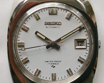 """Seiko """"5"""" Dress Watc, 7005-8106 P Automatic movement       rolex,cartier,IWC,panerai,jaeger LeCoultre. longines, need to sell to buy a Rolex"""