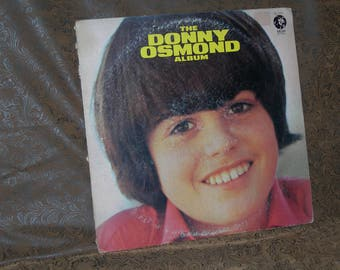 Donny Osmond/ The Donny Osmond Album/ 1971 MGM Records/ Stereo/ SE 4782/ Pop Rock