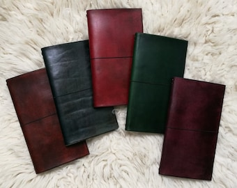 "Booklet ""Khaalldori"" leather (natural vegetable tanned) + 2 notebooks (21 X 11)"