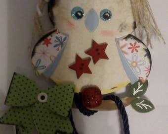scrap OWL decoration