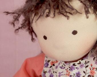 Arisha - Waldorf Doll, Waldorf Inspired, Steiner Doll, One of a kind Ready to ship!