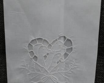 Vintage Cotton Geese Kitchen Towel