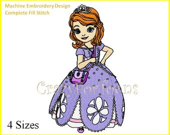 SOFIA the first EMBROIDERY DESIGNS Set All formats
