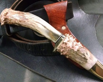 Custom sheath and belt loop