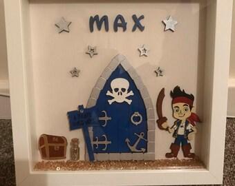 Pirate door box frame