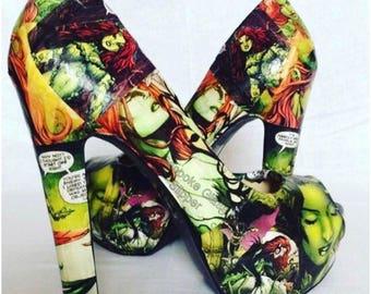 Poison ivy comic strip heels