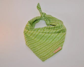 Green Tie On Bandana