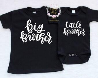 Big Brother Shirt, Little Brother Shirt, Little Brother Big Brother Shirts, Big Brother Little Brother Shirts, Big Brother Little Sister FB4
