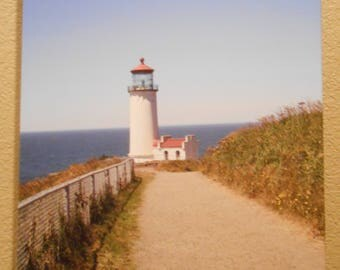 Umpqua River Lighthouse in Oregon