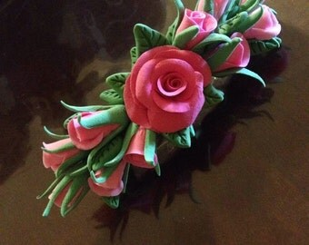 Beautiful Rose Hair Clip