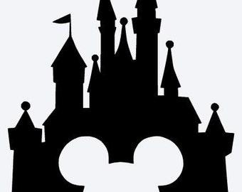 Disney Castle Vinyl Sticker
