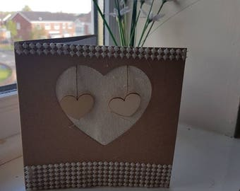 Personalised Wedding/Valentine's day card