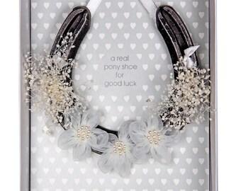 Bridal Wedding Pony Shoe (Real Pony Shoe)
