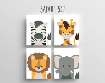 Safari Animal Prints 5x7