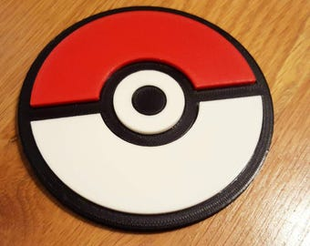 Pokeball Drinks Coaster
