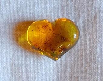 Heart amber from Mexico - heart (1)