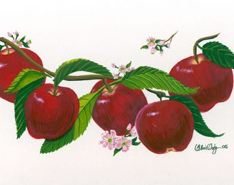Apple Jelly - ORIGINAL gouache